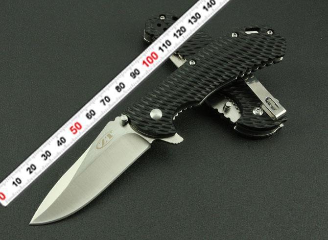 """FAST FREE SHIPPING New """" Zero Tolerance Style """" Zytel Handle Pocket Folding Knife FZT(China (Mainland))"""