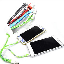 Braide 3 in 1 USB Sync Data Charger Cable For iPhone 4/4S/5/5S/6 For Samsung For iPad Mini mobile phone charger cable