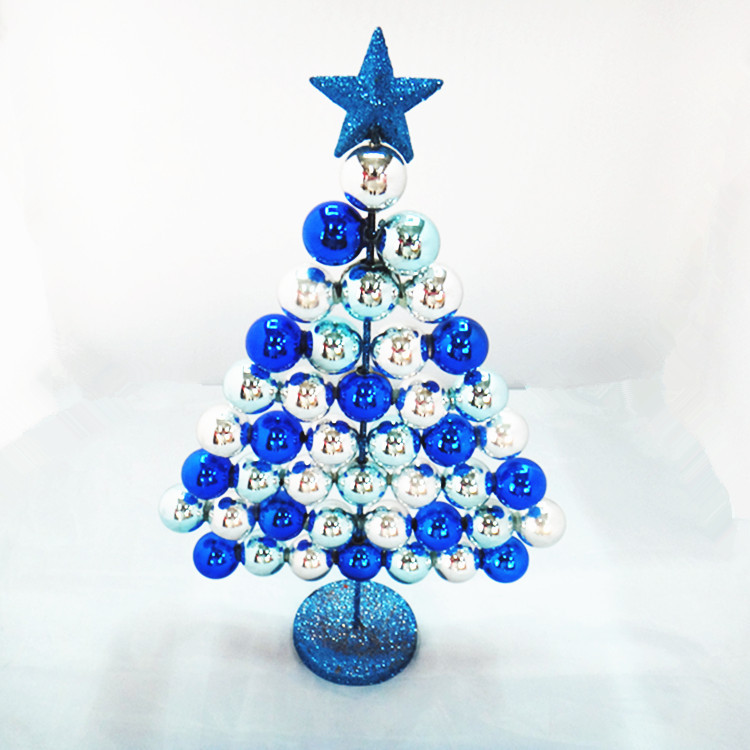 Rs blue white christmas tree christmas decorations 37cm for Christmas decoration suppliers