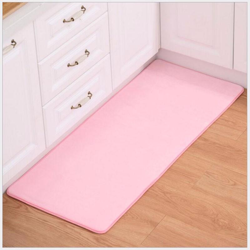 2PCS Set Carpet Coral Velvet Pad Carpet Floor Mat Carpet And Rug For  Bathroom Kitchen Non-slip Mat Door Carpet Mat Alfombras d1e8cdd8dad2