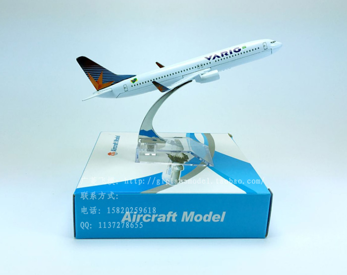 Model plane, VARIG, aviation B737-800 Brazil alloy simulation model aircraft airliner flying mode(China (Mainland))
