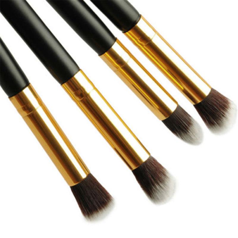 Ideal EA14 4pcs Pro Foundation Blush Blending Eyeshadow Makeup Brush Cosmetics Small(China (Mainland))