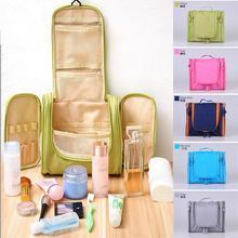 HW07 Hanging hook double wash bag large capacity multifunctional waterproof travel storage cosmetic cases travel toiletry bag(China (Mainland))