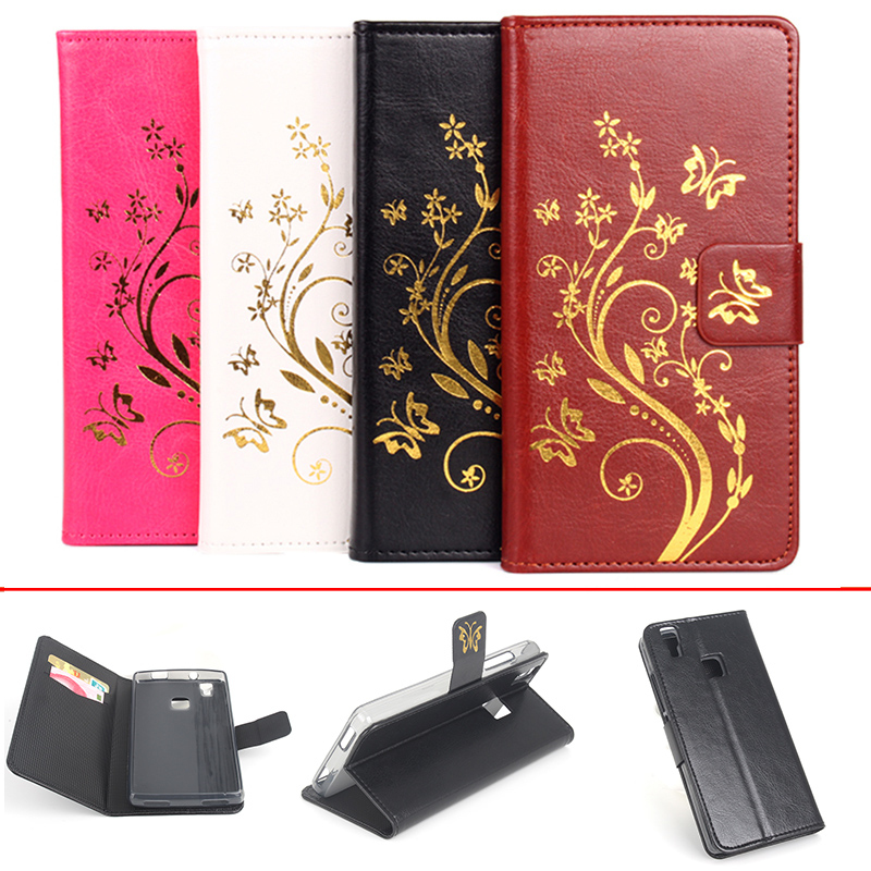 Luxury Phone Case Doogee X5 Max 5 Inch Flip Cover Wallet PU Leather Bag Skin Doogee X5 Max Pro Case