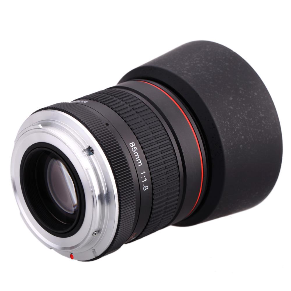 kelda 85mm f  1 8 manual focus portrait lens for canon eos Vintage Canon Camera Canon Rebel Camera Manual