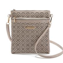 2016 new fashion small hollow women bags handbags ladies leather crossbody woman mini shoulder messenger bags bolsas femininas