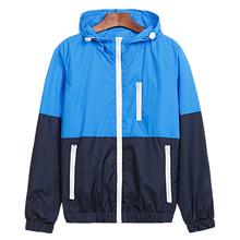 Jacket Men Windbreaker 2016 Autumn New Fashion Jacket Men's Hooded Casual Jackets Male Jacket Coat Thin Men Coat Outwear JK101(China (Mainland))