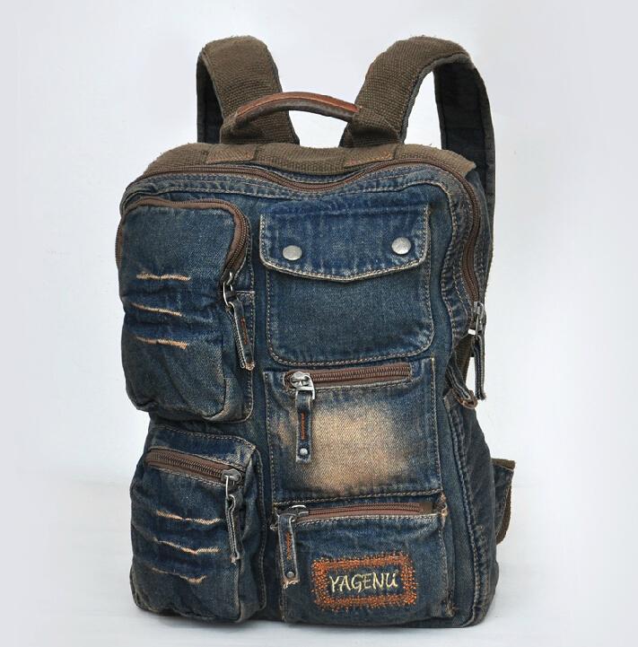 ETN BAG brand high quality hot sale best seller men backpack male fashion denim travel backpack man vintage backpack travel bag<br><br>Aliexpress