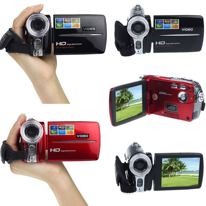 2015 New Brand 3 Inch TFT LCD Digital Camera 720P HD 20MP Video Camcorder High Quality 16x Digital Zoom DV Camera Wholesales(China (Mainland))