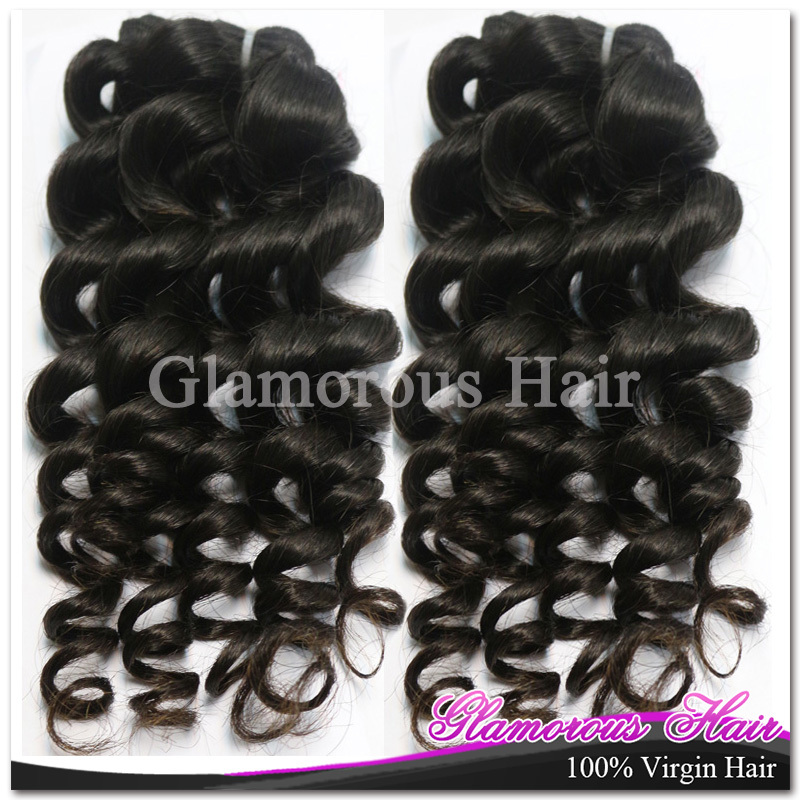 DHL Free Shipping Natural Black 1b 100% Raw Unprocessed Extension Human Hair Weave Cambodian Virgin Hair Ocean Wave<br><br>Aliexpress