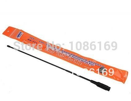 SMA-M UHF+VHF Handheld antenna for BF-UV3R TH-UV3R New NAGOYA NA-771(China (Mainland))