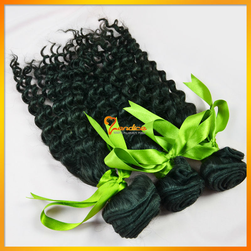 Virgin Brazilian Curly Hair Bundle Deals 54