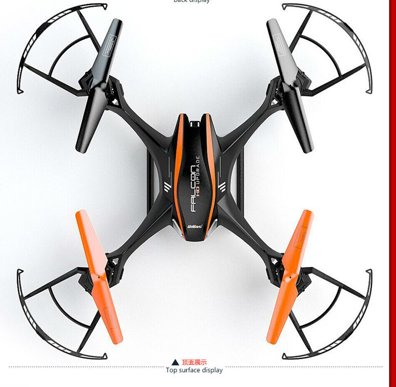 Free Shipping UDI 818S Quadcopter with 5.0 MP Camera RC Drone RC Helicopter video remoter control VS X5SW X5C F181 X8C FSWB(China (Mainland))