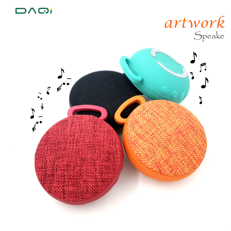 Art Fabrics Best small Portable Wireless Bluetooth Speaker and Built-in Microphone Stereo Rock Sound Outdoors Bluetooth Speakers(China (Mainland))