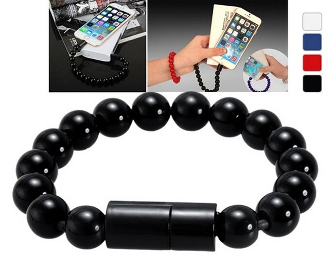 Arts Buddha Bead Bracelet 5-pin Micro USB Charging Data Phone Cable charger Cabo Cord Wire line for Samsung HuaweI LG HTC(China (Mainland))