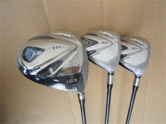 Right Hand MZ JPX800 Woods Golf Woods OEM Golf Clubs Driver + Fairway Woods Regular/Stiff Flex Graphite Shaft With Head Cover(China (Mainland))