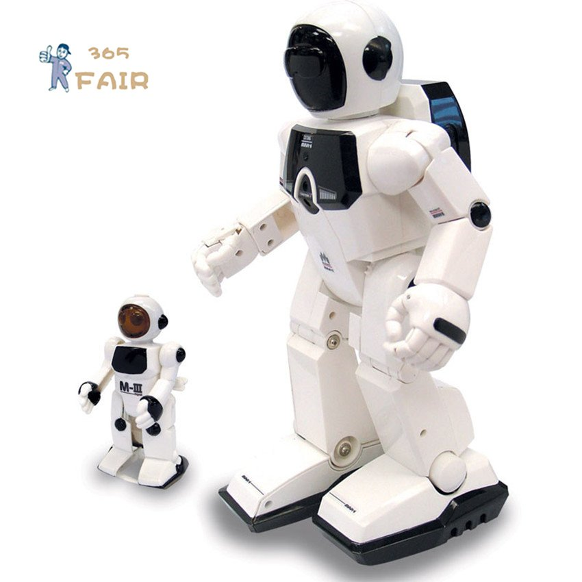 Silverlit 88307 intelligent walker rc robot control by voice toy robot puzzles Action & Toy figures P2(China (Mainland))