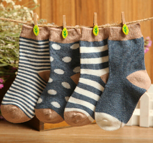 Free shipping 8 pieces lot 4pair 85 cotton Baby socks newborn floor socks No bone promoted