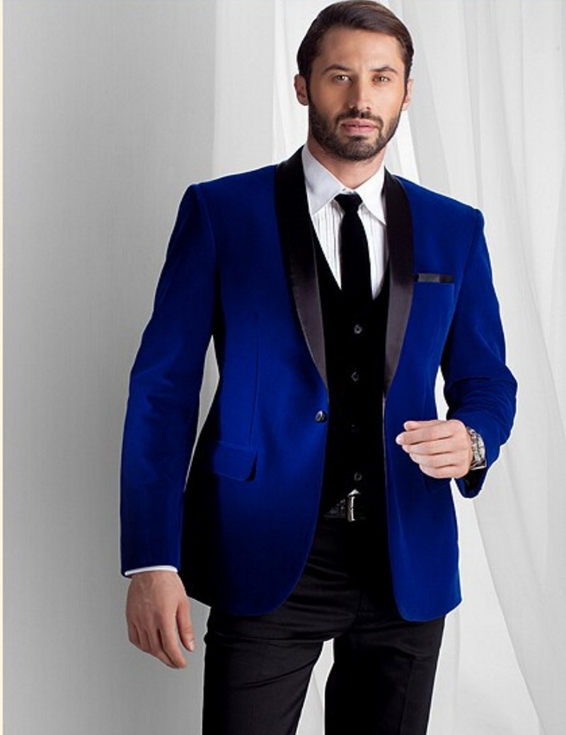 Collection Royal Blue Blazer Mens Pictures - Reikian