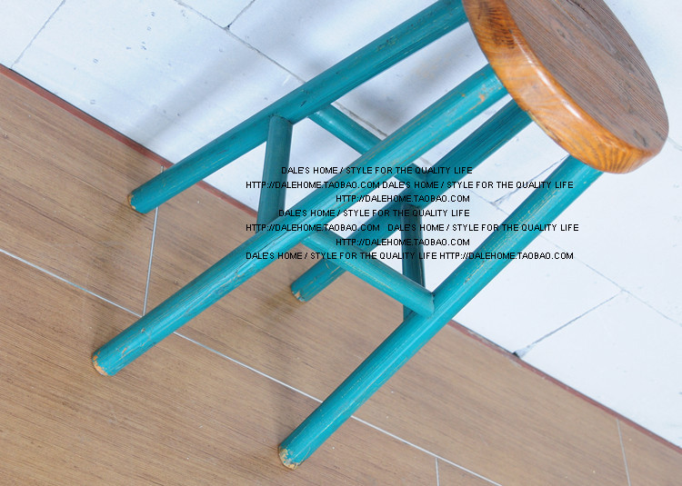 French country loft in Europe and America retro bar stool wood bar stool bar chair high chairs high stool<br><br>Aliexpress