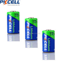 Buy 3PCS*PKCELL CR2 15270 CR15H270 3V 850mAh Lithium Cylindrical Li MonO2 Battery for $7.36 in AliExpress store
