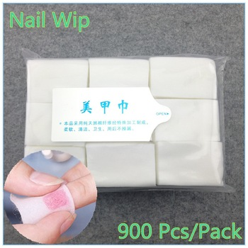 YZWLE 1 Pack Professional Lint Free Nail Wipes Soft Cotton Nail Wipe Polish Remover