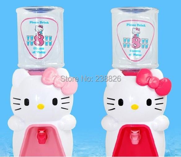 Гаджет  Hello Kitty Hello Kitty KT cat office Home Furnishing Mini cartoon water dispenser None Бытовая техника