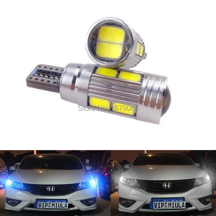 Источник света для авто LB 2 X T10 W5W 12V Kia toyota honda , лампа philips 12v w5w white vision 2 шт