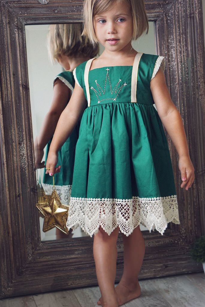 2015 Christmas Girl Dress Kids Clothes Casual Cotton Girls Dress Green Baby Girl Clothes Sleeveless Toddler Girl Clothing(China (Mainland))