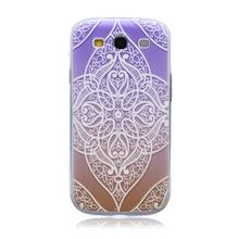 For Samsung Galaxy S3 Ultra Thin Case Fashion Embossed Phone Cover Relief Painting Patterned Slim Soft Silicone TPU Case Cover