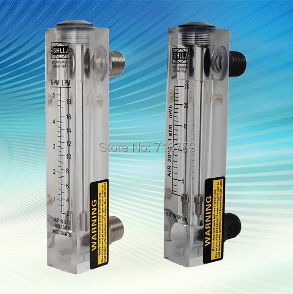 Aliexpress buy lzm panel mounted flow meter