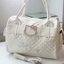 hello kitty baby tote Fashion small bag Hot white cute hello kitty Christmas gift shoulder bags handbag leisure bag BKT208