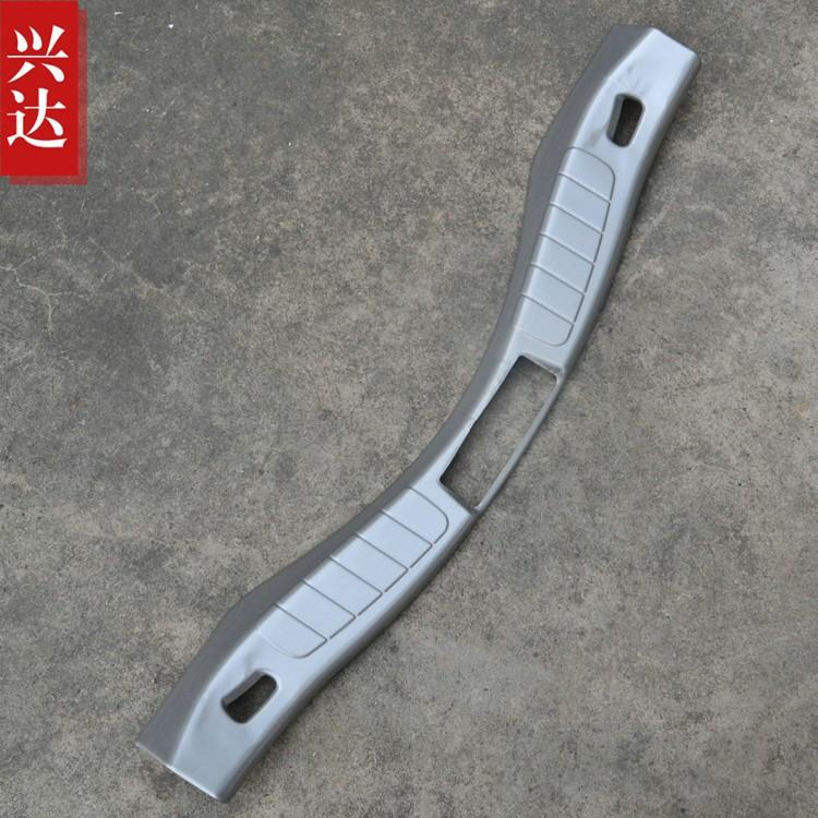 High Quality Stainless Steel Rear Bumper Protector Sill plate accessories best for Mondeo 2013-2014(China (Mainland))