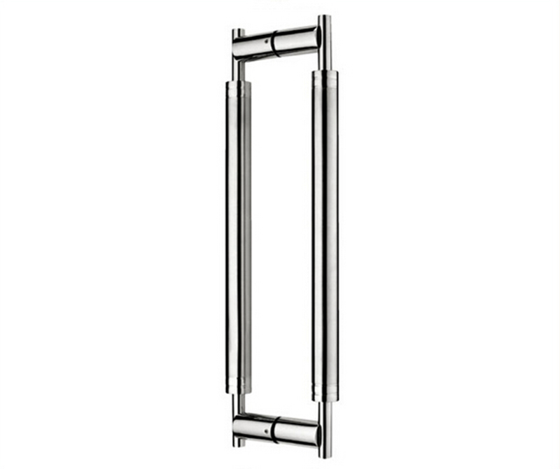 Architectural Entry/Entrance Door Handle 304 Stainless Steel Pull/Push Handles For Timber/Glass Doors 38*600mm HM74(China (Mainland))