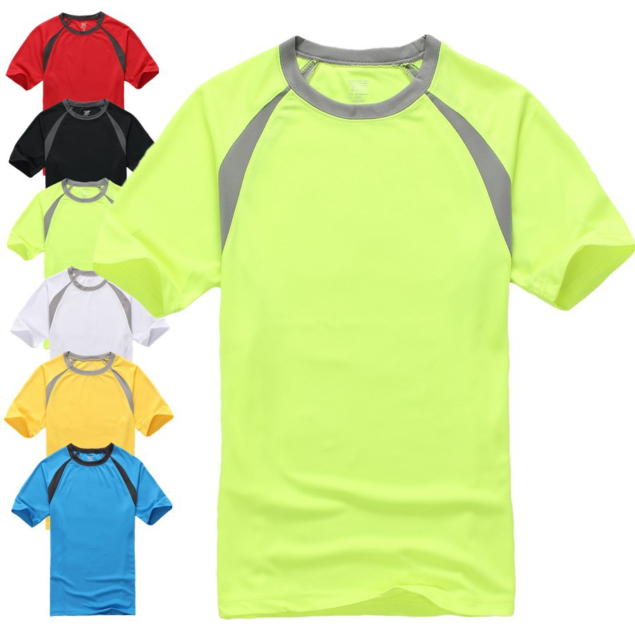 2015 New Outdoor Sports Muscle Casual Short Sleeve Workout T shirt Mens Undershirt Fitness Bodybuilding Clothing Men(China (Mainland))