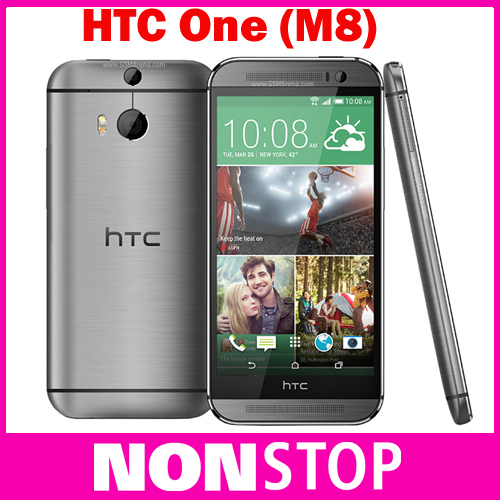 Original HTC ONE M8 Quad Core Mobile phone 4G LTE Android 4.4 2GB RAM 16GB/32GB ROM 3 Camera EMS DHL Free Shipping(China (Mainland))