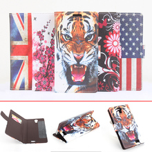 Cubot H1 Case Fashion Wallet Style 5 Painted Flip Cover for Cubot H1 Phone Case with Stand Function & Card Holder