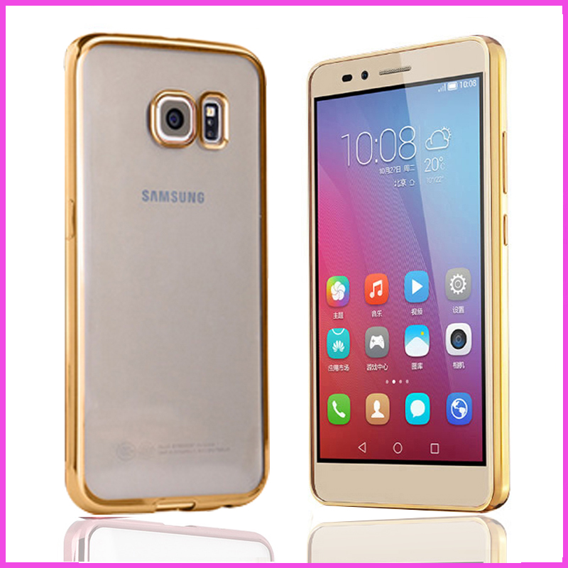 Case For Samsung Galaxy s7 s 7 / s7 edge s7edge Case Original to Phone Luxury Brand Clear Cover By TPU Soft Thin cases(China (Mainland))