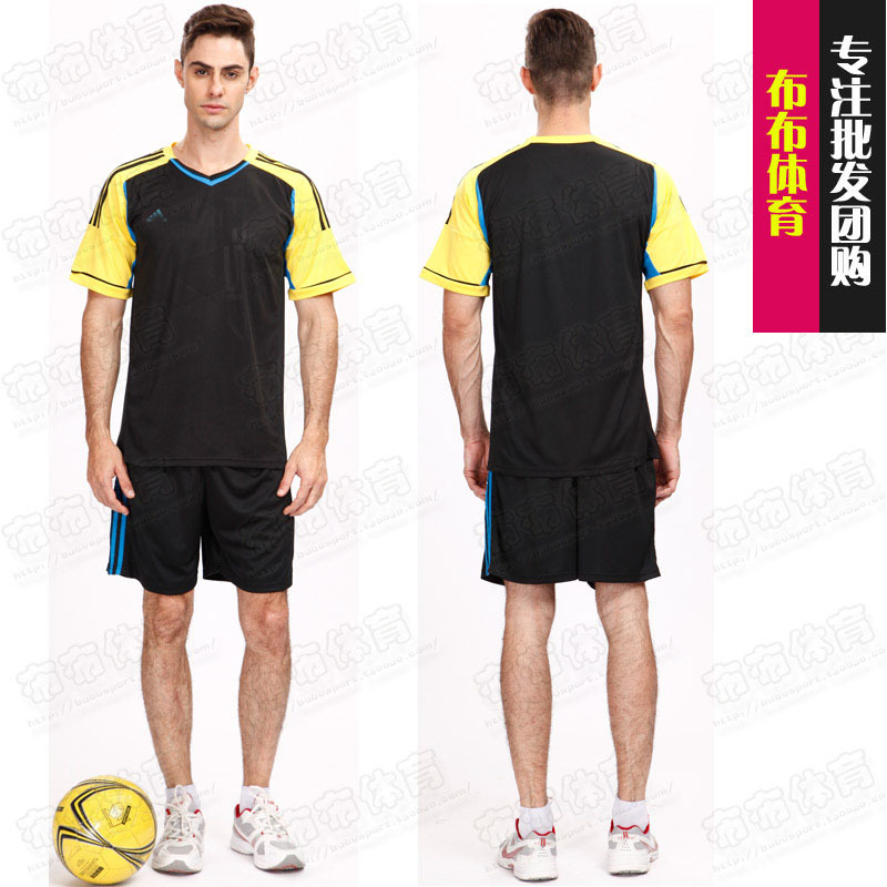 2015 New Fashion Design Blank Soccer Football Traning Sport Jersey Team DIY T shirt Set(China (Mainland))