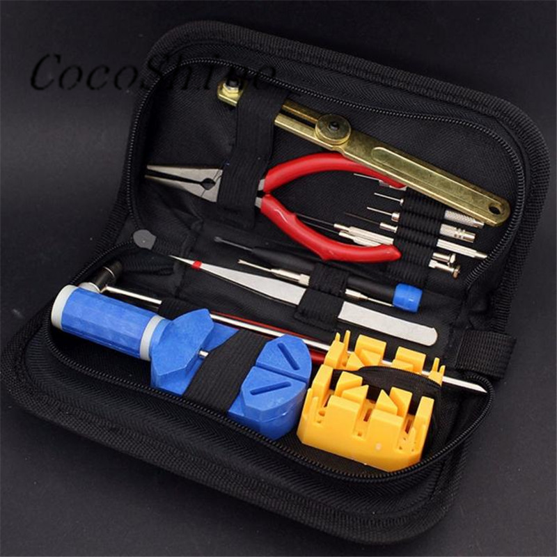 CocoShine A-888   High-Quality Watch Repair Tool Kit Opener Link Remover Spring Bar Band Pin w/ Carrying Case wholesale