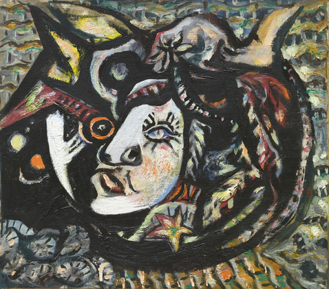 the picture paiting By Numbers Oil painting abstract decorative painting Mask - Jackson Pollock(China (Mainland))