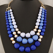 Buy Costume Jewelry Bohemian Long Statement Necklace Beads Necklaces & Pendants Multi layer Maxi Necklace Women Vintage Accessories for $5.77 in AliExpress store