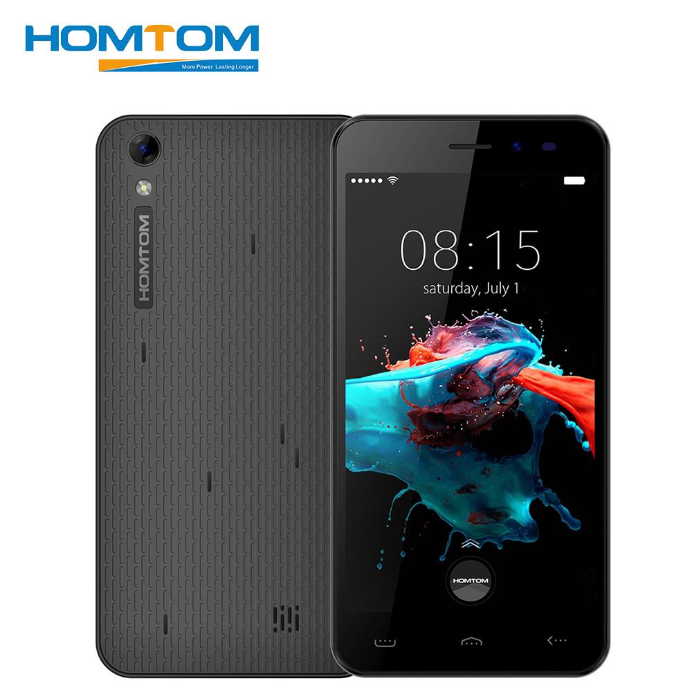 Homtom HT16 Smartphone 5.0 Inch 1GB RAM 8GB ROM Android 6.0 Quad Core 1280x720 MT6580 3000mAh 8.0MP Dual Sim Unlock Mobile Phone(China (Mainland))