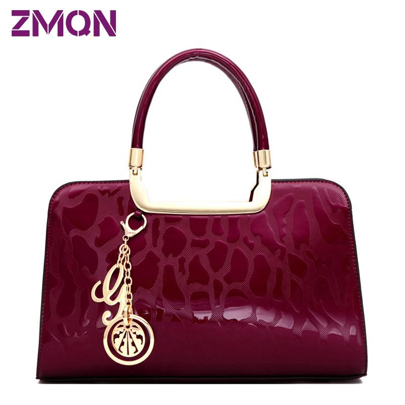 100% Buyer Praise Women Fashion Bolsos designer Bag Of Brand Famous Designer Handbags High Quality Patent Leather Hard Tote Bag(China (Mainland))
