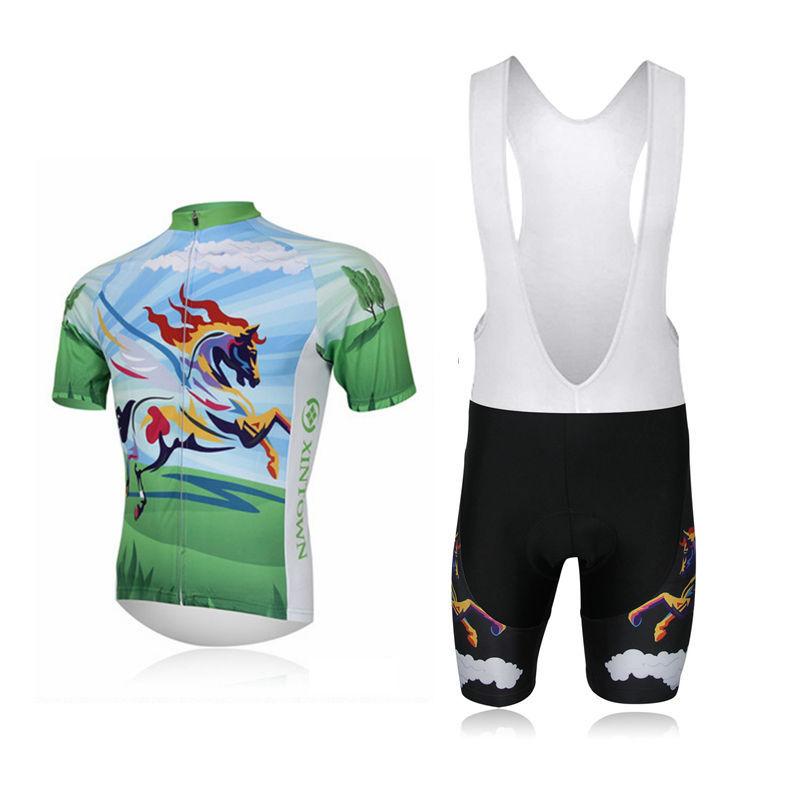 sportswear mountain bike road ciclismo Horse cycling clothing set mtb maillot bicicleta racing Cycling Jersey Bicycle BIB Shorts(China (Mainland))