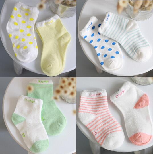 Free shipping ( 10 pieces/lot=5pair ) 100% cotton Baby socks newborn floor socks kids cotton short socks  (China (Mainland))