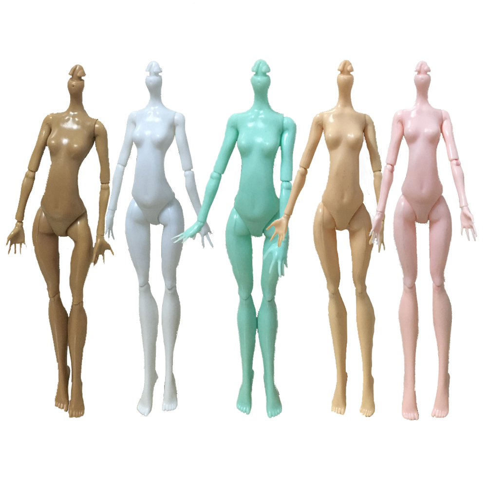 High Quality Imitation Demon Monster Dolls Naked Body Without Head For Dolls DIY 7Colors Fairytales Rotatable Joints Doll Bodies(China (Mainland))