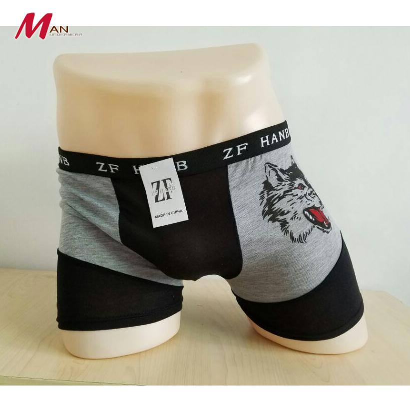 High Quality Mens Underwear Boxers Cotton Cueca Boxer Men Print Boxer Shorts Factory Wholesale Underpants Boxer Men(China (Mainland))