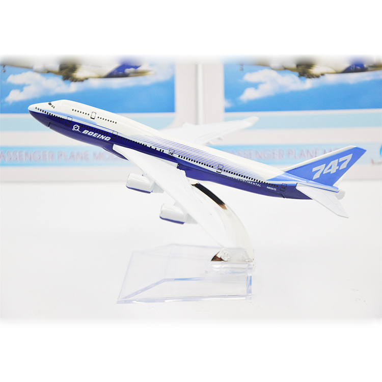 16CM/Desk 1:400 Metal Airplane Model Boeing Air B747 Airways Model Simulation Aircraft Souvenir Toy Vehicles Gift Free Shipping(China (Mainland))