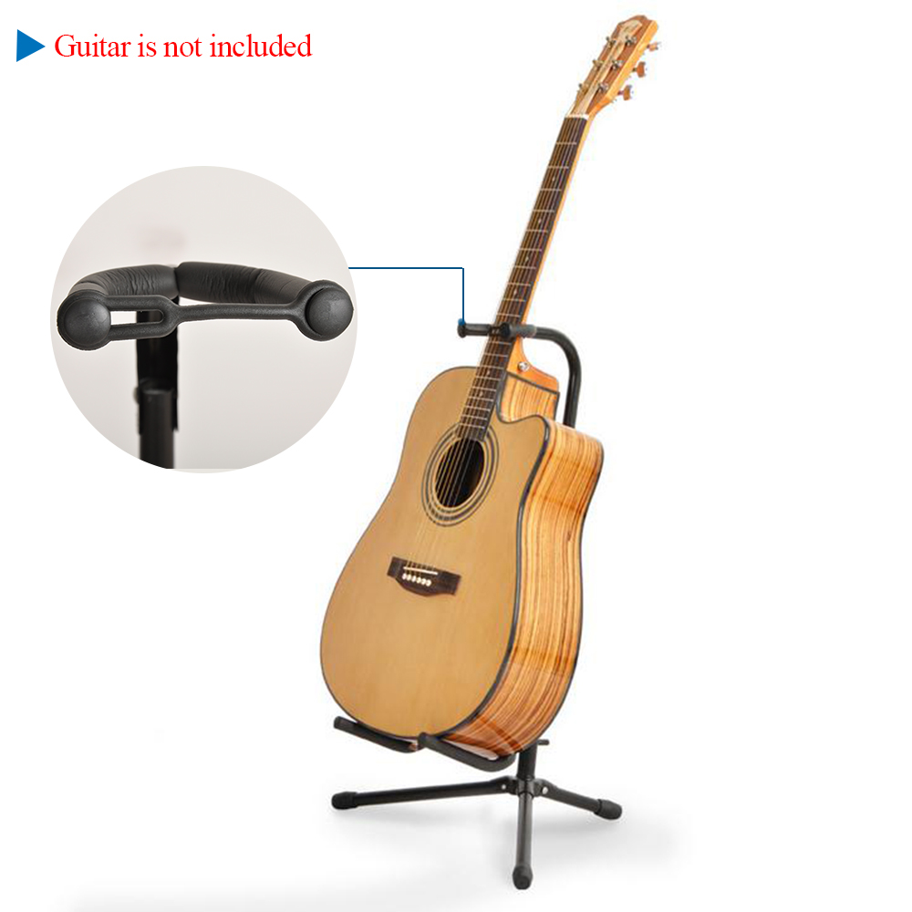 High Quality Adjustable Folding Tubular Guitar Stand Holder Universal for Acoustic Electric Guitar Bass Guitar Parts(China (Mainland))